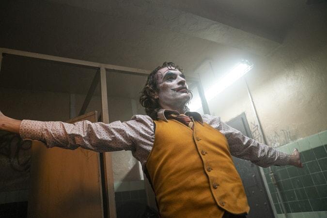 Joker escena en el baño