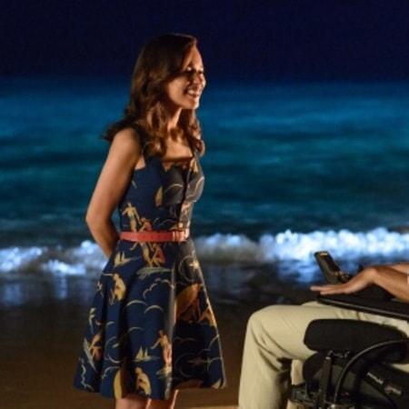 Lou y Will en la playa