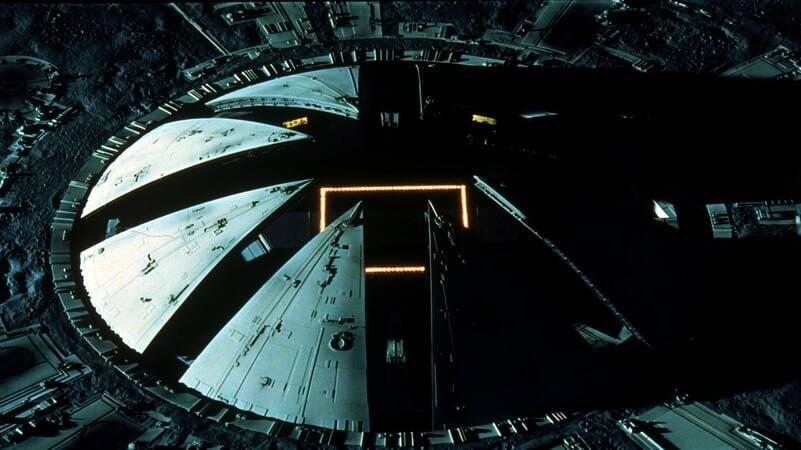 Cubierta de la nave espacial