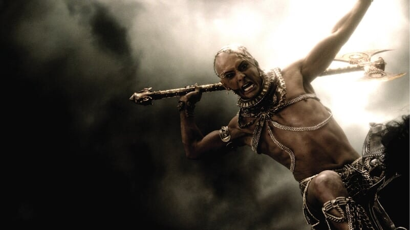 Xerxes atacando
