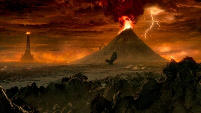 El Monte Del Destino en El Señor De Los Anillos: Las Dos Torres