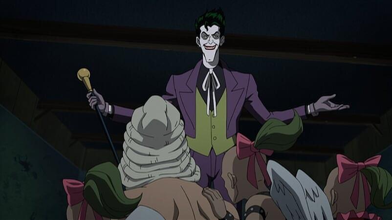 Joker hablando, Batman: The Killing Joke