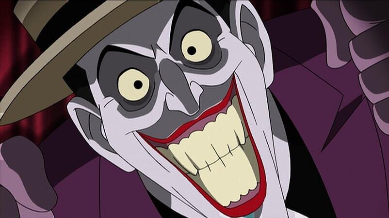 Joker sonriendo, Batman: The Killing Joke