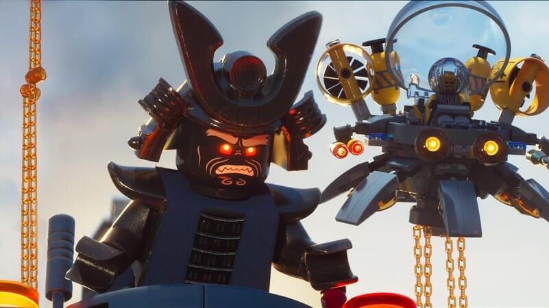 Lord Garmadon enojado en Lego Ninjago La Película