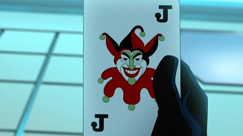 Tarjeta Harley Quinn Batman: The Killing Joke