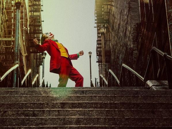 Joker bailando.
