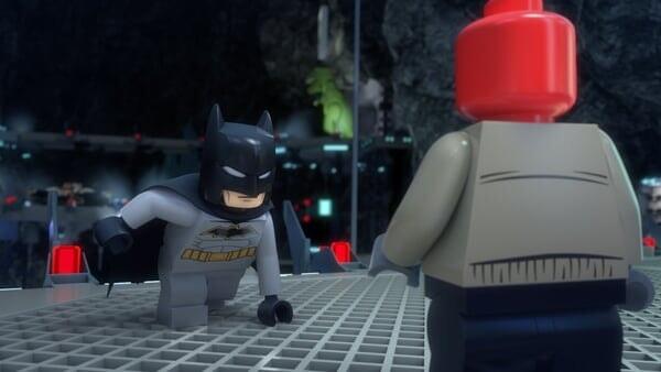 Batman atacando