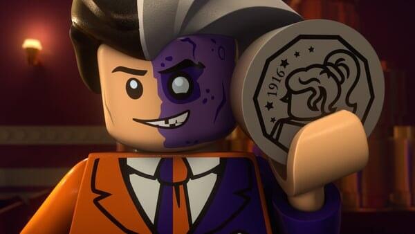 Dos caras Lego
