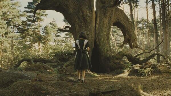 Ofelia en el bosque en el Laberinto Del Fauno