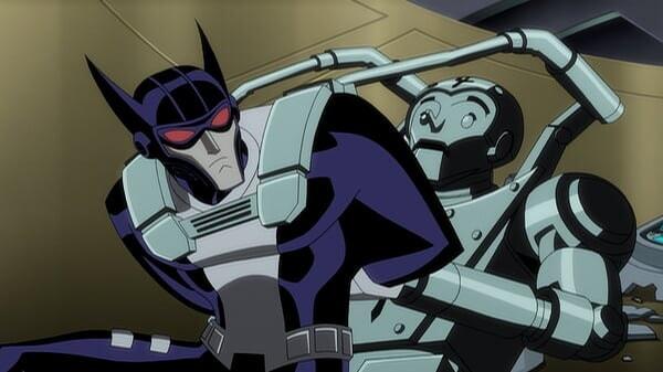 Batman peleando