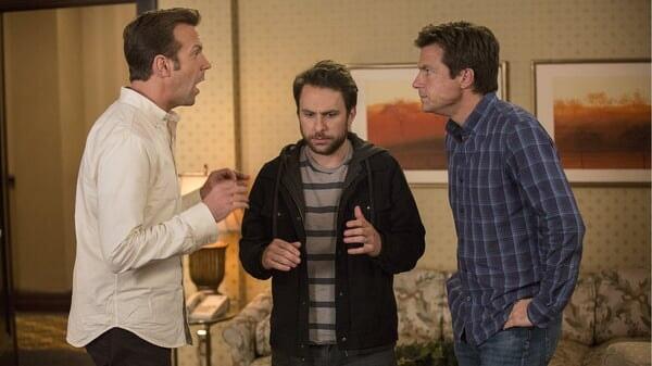 Nick, Dale y Kurt discutiendo en Quiero Matar a Mi Jefe 2
