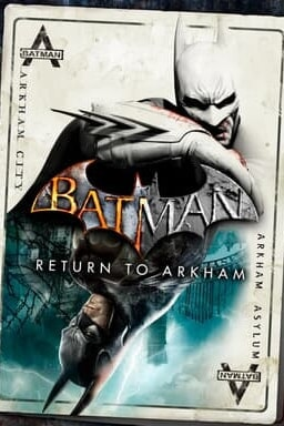 Batman Return to Arkham - Key Art