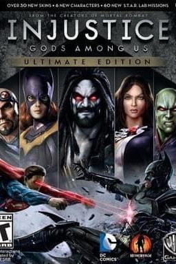 Key art Injustice: Gods Amog Us