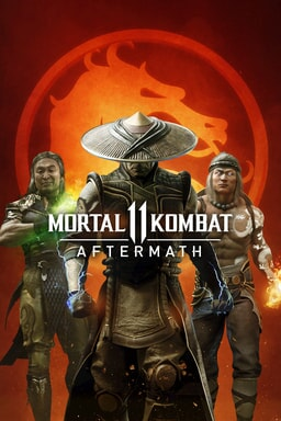 Mortal Kombat 11 Aftermath - Key Art