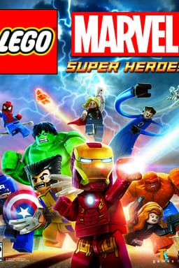 Key art LEGO Marvel Super Héroes