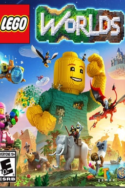 Lego Worlds - Key Art