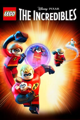 LEGO Disney•Pixar's The Incredibles - Key Art