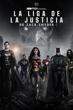 Key art Zack Snyder Justice League