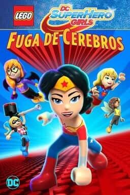 Keyart: LEGO DC Super hero girls: Fuga de cerebros