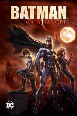 Key Art Batman Mala Sangre