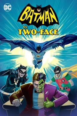 Batman vs Dos Caras - Key Art