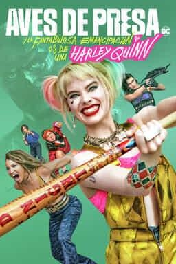 Aves De Presa Y La Fantabulosa Emancipación De Una Harley Quinn - Key Art