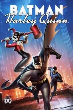KeyArt: DCU: Batman y Harley Quinn