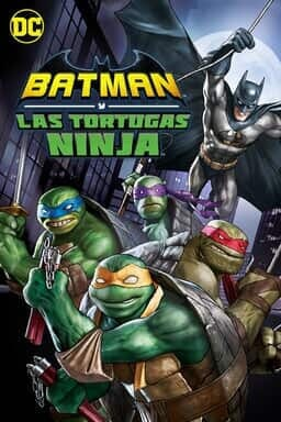 Batman Y Las Tortugas Ninja - Key Art