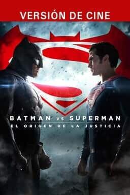 Batman VS Superman: El Origen De La Justicia - Key Art