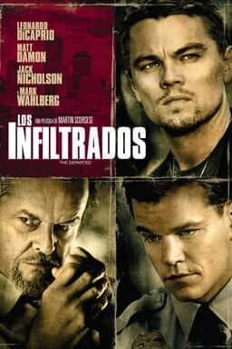 Departed, Infiltrados, Leonardo DiCaprio, Matt Damon, Jack Nicholson