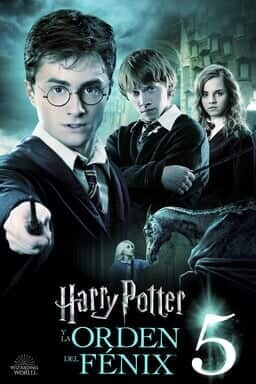 Harry Potter Y La Órden Del Fénix - Key Art