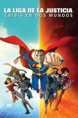 KeyArt: Justice League: Crisis on Two Earths