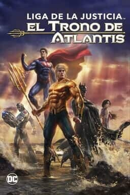 KeyArt: Justice League: Throne of Atlantis