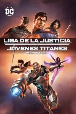 KeyArt: Justice League vs. Teen Titans 
