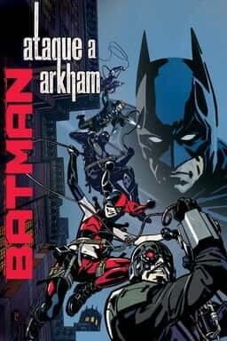 Key Art Batman Ataque a Arkham