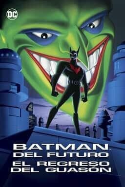 Key Art Batman del Futuro: El regreso del Guasón
