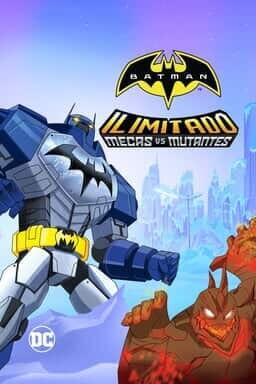 Key art Batman Ilimitado: Mecas vs Mutantes
