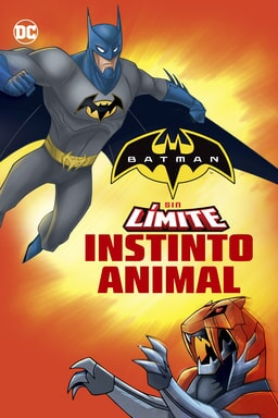 Key Art Batman sin Límite: Instinto Animal
