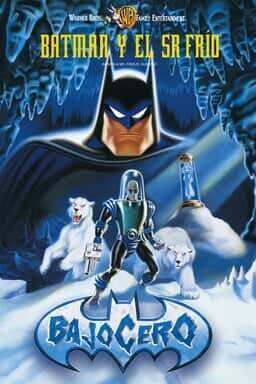 Key art Batman y El Sr. Frio: Bajo Cero