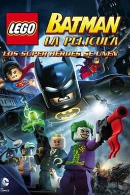 Key Art LEGO Batman: La Película - Los Super Héroes Se Unen