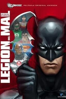 Key art Liga de la justicia: Legión del mal