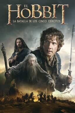 Key art El Hobbit La batalla de los cinco ejércitos