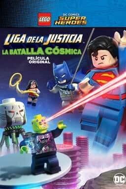 Key art Liga de la Justicia LEGO: Batalla Cósmica