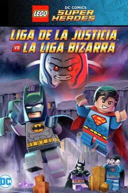 Key art LEGO DC Comics Super Heroes: Liga De La Justicia vs La Liga Bizarra