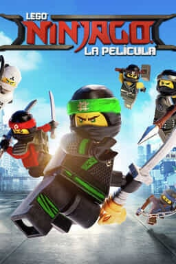 Keyart Lego Ninjago La Película