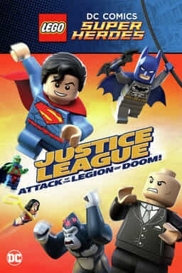 KeyArt: LEGO DC Super Heroes: Justice League: Attack of the Legion of Doom! 