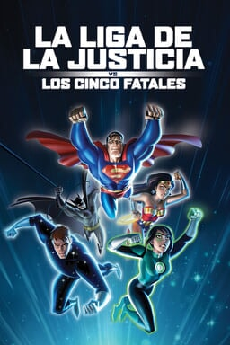 La Liga de la Justicia vs. Los Cinco Fatales - Key Art