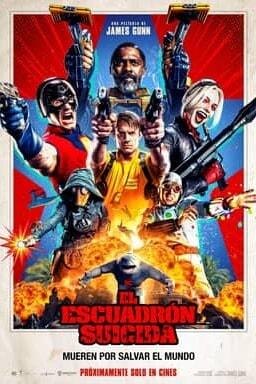 El Escuadron Suicida Poster