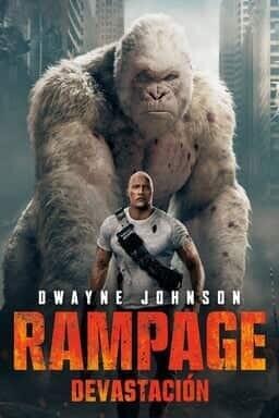 KeyArt: Rampage: Devastación