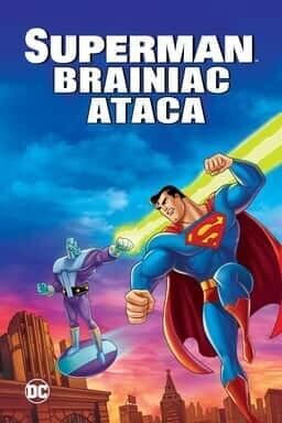 KeyArt: Superman: Brainiac Attacks